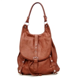 (purse/backpack)-Brown