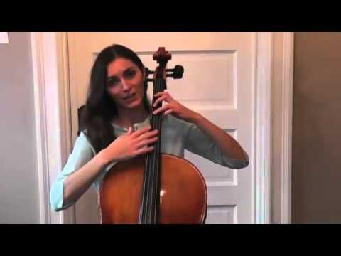 Olga Redkina: Online Cello Lessons - 5 - How to Practice the Fingerboard.