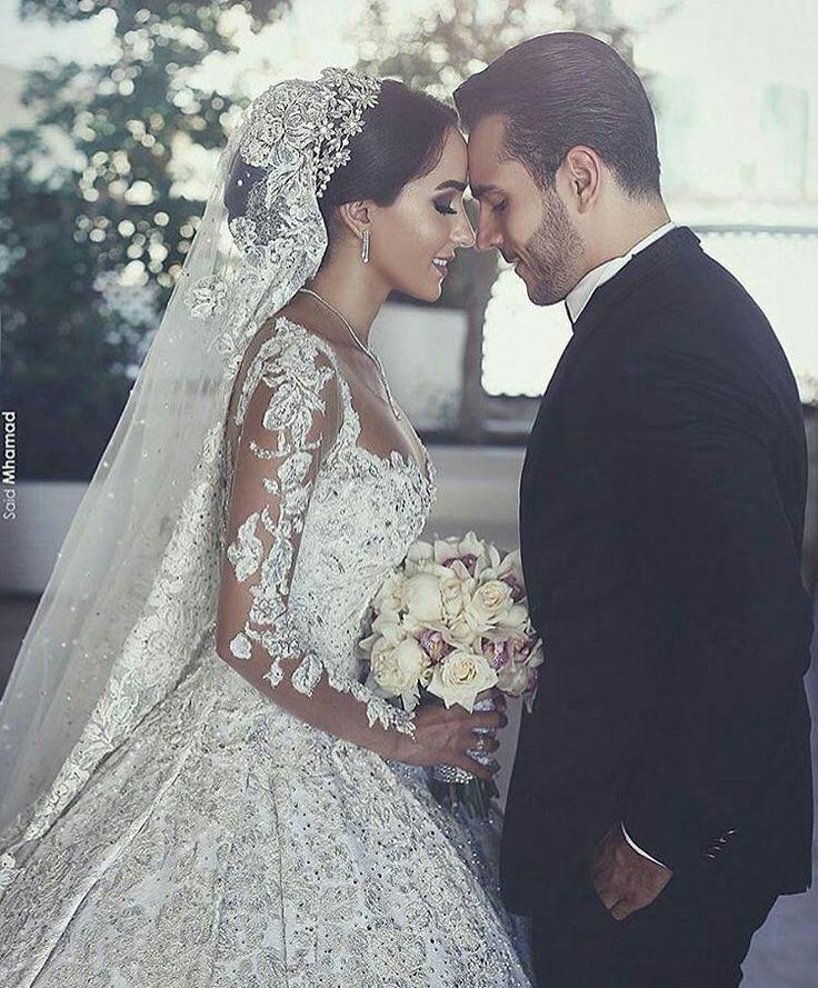 LINDO! ❤️  @saidmhamadphotography  #Weddaily