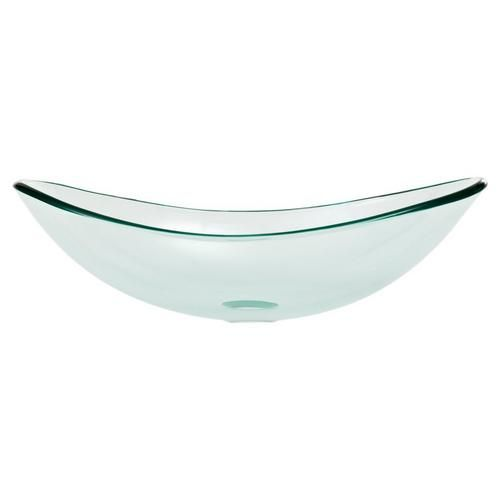 Oval Glass Vessel Sink - 15 x 22 - 937400119 | Floor and Decor