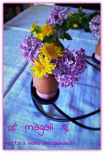 magalì: centrotavola di Pasqua