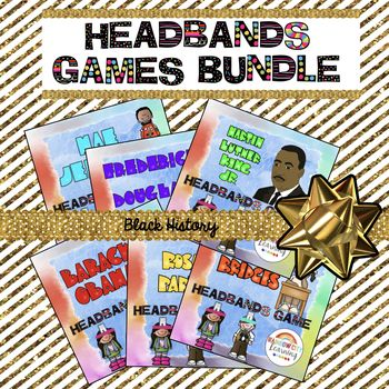 Headbands Games Bundle for Black History Month by Rainbow City Learning #BlackHistoryMonthWithTpT