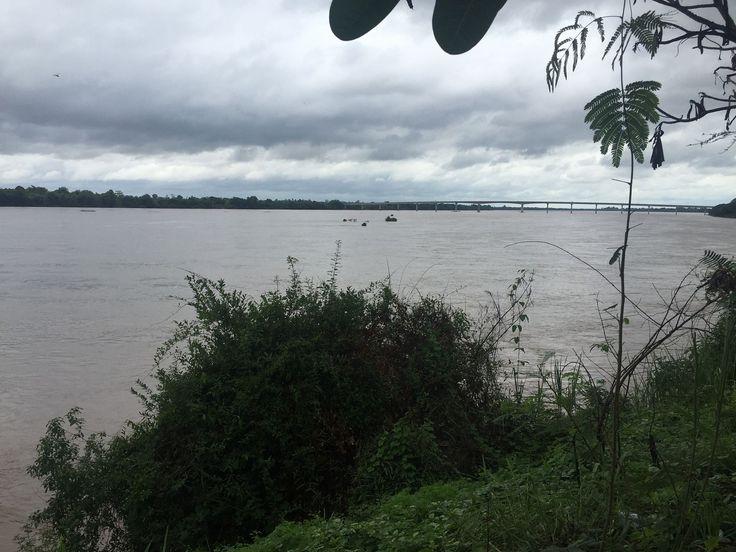 [OC] [3264 x 2448] Mekong River Stung Treng City Cambodia