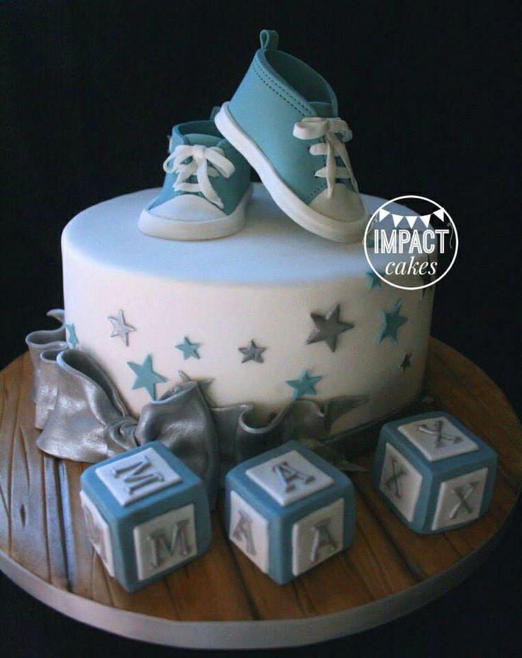 Baby Shower Cakes Sheffield ~ Baby boy christening cake baptism shower