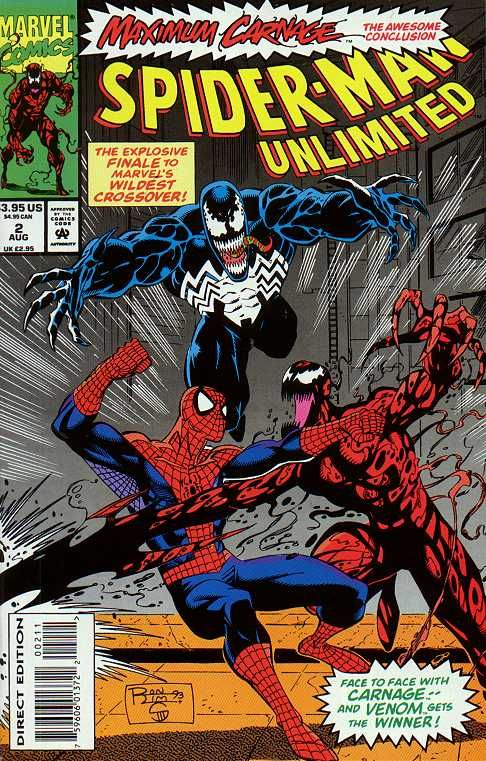 Spider-Man Unlimited # 2 by Ron Lim & Jim Sanders III