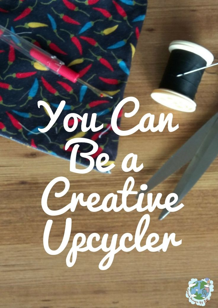 Creative upcycling - sharing 4 tips on how you can get creative upcycling your clothes. #refashion #upcycle