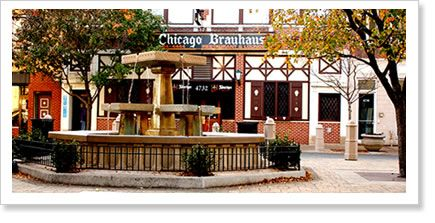 The Chicago Brauhaus - Arguably the most Lincoln Square-y thing in Lincoln Square. German food, giant beer boots and adorable music.