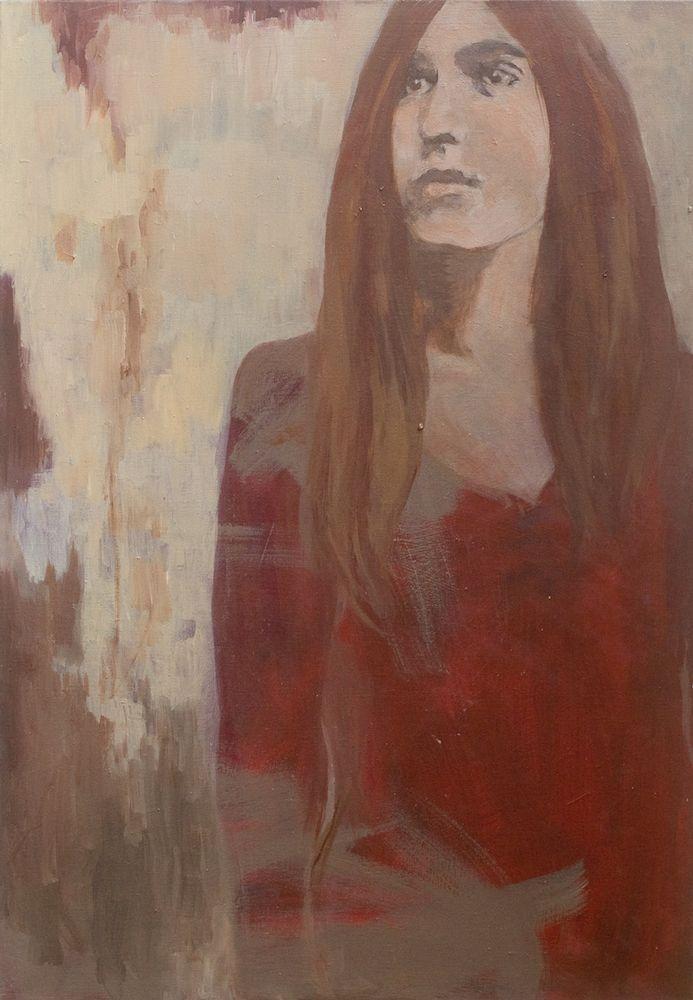 Irina Schuvaloff, The unknown future, 2015, oil on canvas, 100 x 70