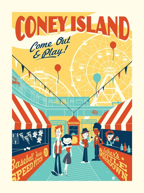 Coney Island - Montygog