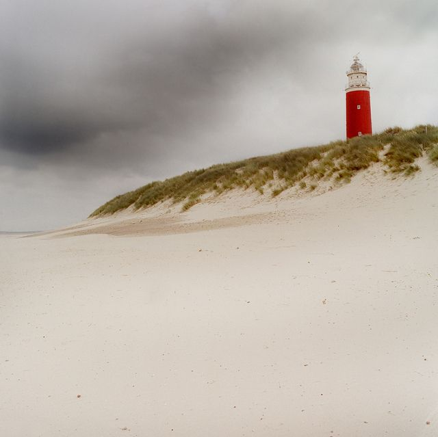 Lighthouse on the Dutch isle of Texel