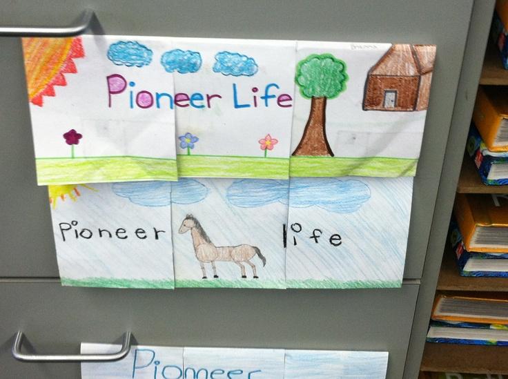Pioneer Life Flap Book