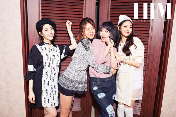 LOVE US - Danbi + Euna + Migyo + Hayang