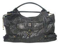 Hayden-Harnett Leather Classic Versatile Shoulder Bag