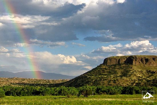 Black Mesa Rainbow, New Mexico