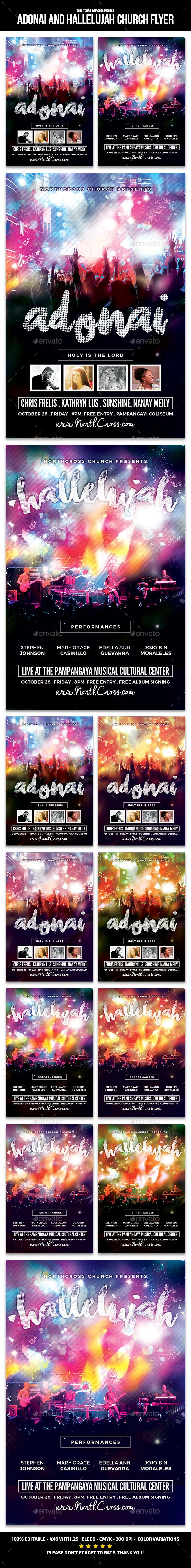 17 best images about church flyer logos models and adonai and hallelujah church flyer