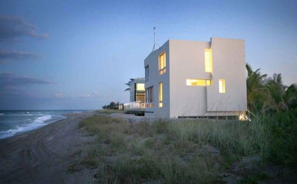 Amazing Beach House Design By Hughes Architects 600×371 - pictures, photos, images