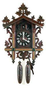 Relógio de Cuco<br>1885 Réplica (Bahnhäusle)
