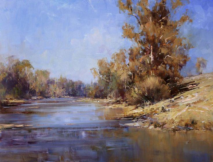 Current Impressionist Australian Landscape Paintings