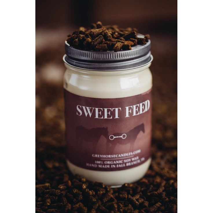 """Sweet Feed"" All Natural Soy Candle 