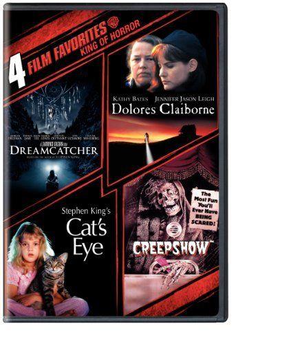 4 Film Favorites: Stephen King (Creepshow, Dolores Claiborne, Dreamcatcher, Stephen King's Cat's Eye) DVD Only $8.35 ~ http://www.discounthorrormovies.com/4-film-favorites-stephen-king-creepshow-dolores-claiborne/