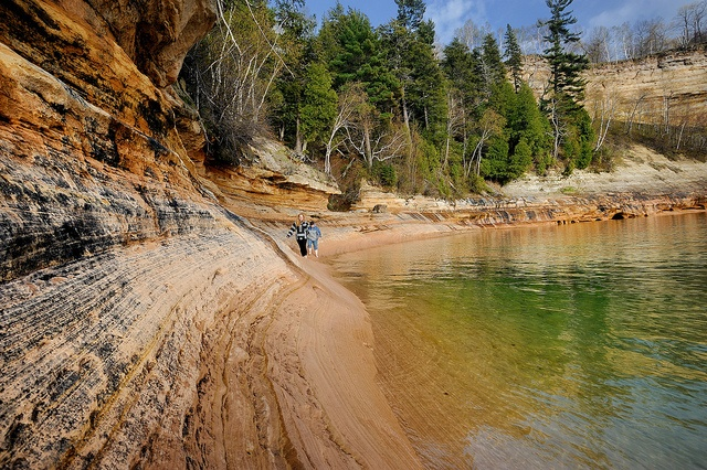A day at Miners Castle - Pictured Rocks National Lakeshore - Munising, Michigan