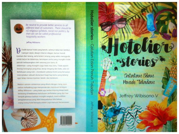 Buku Hotelier Stories Catatan Edan Penuh Teladan