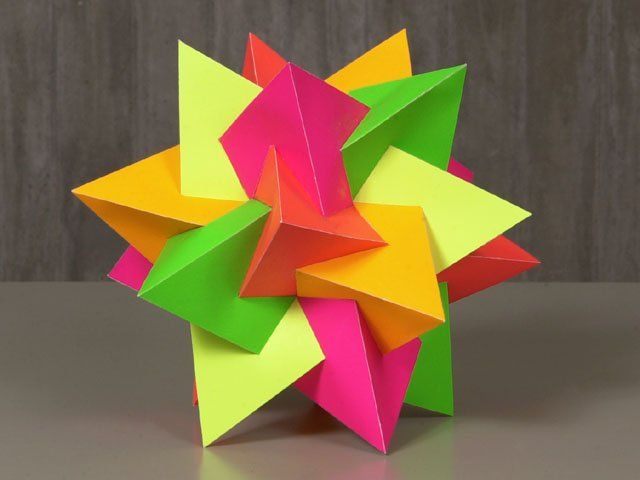71 best images about Mathematical Paper craft on Pinterest ...