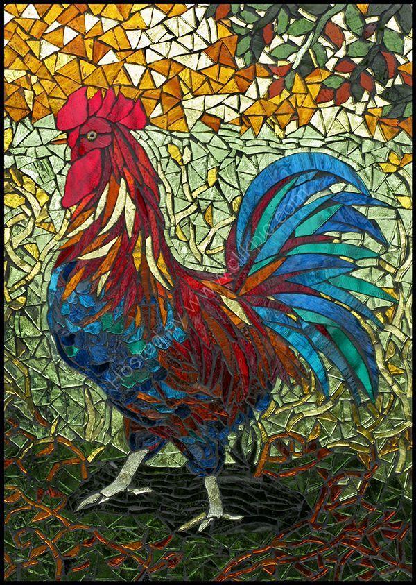 Cockerel - Julie Routley