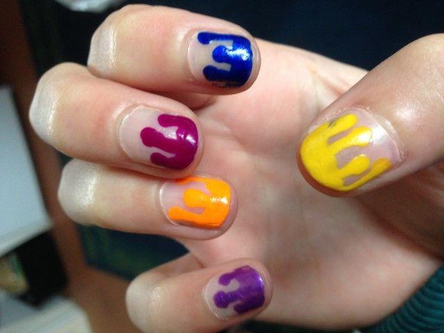 Steph's paint pot nails