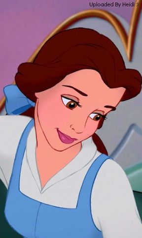 """""""Cheer up, (Belle).  It'll turn out all right in the end"""", beauty and the beast"""