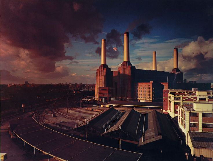 Hipgnosis' cover for Pink Floyd