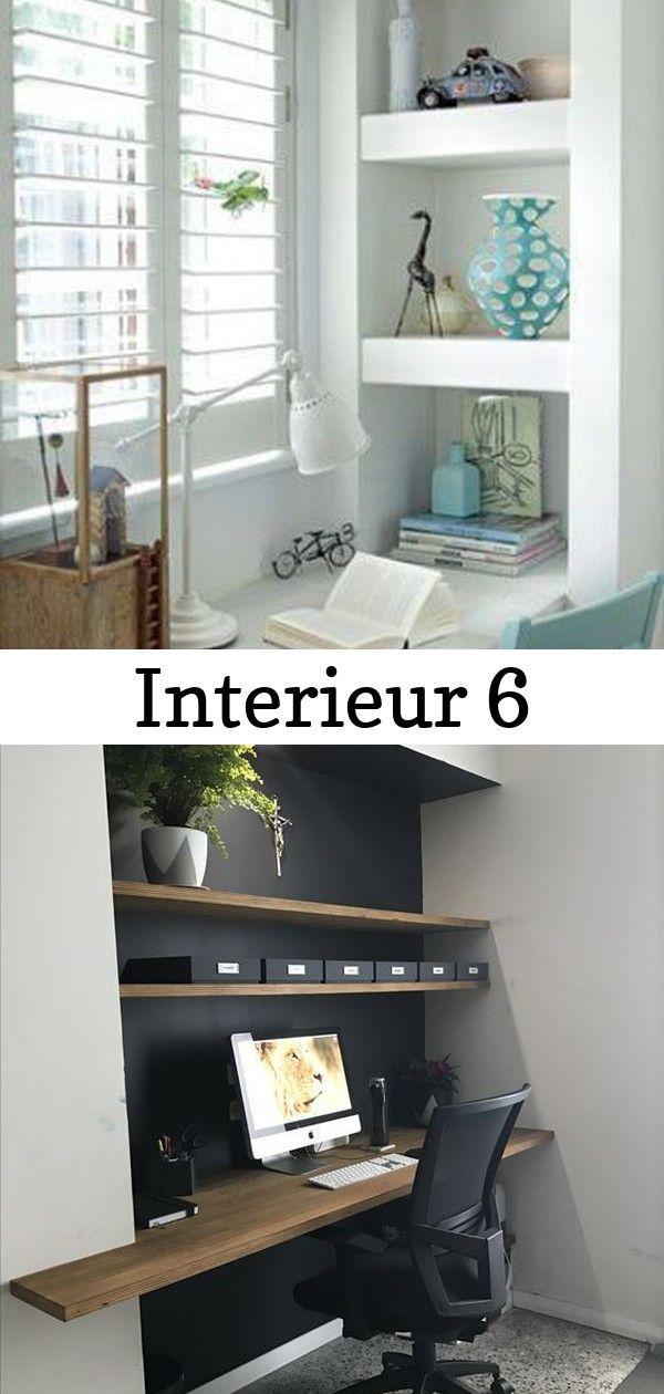 Interieur Nis In De Muur Stijlvol Styling Woonblog Voel Je Thuis Donner De La Profondeur A Son Bureau Creer Une Niche D Home Decor Decor Home