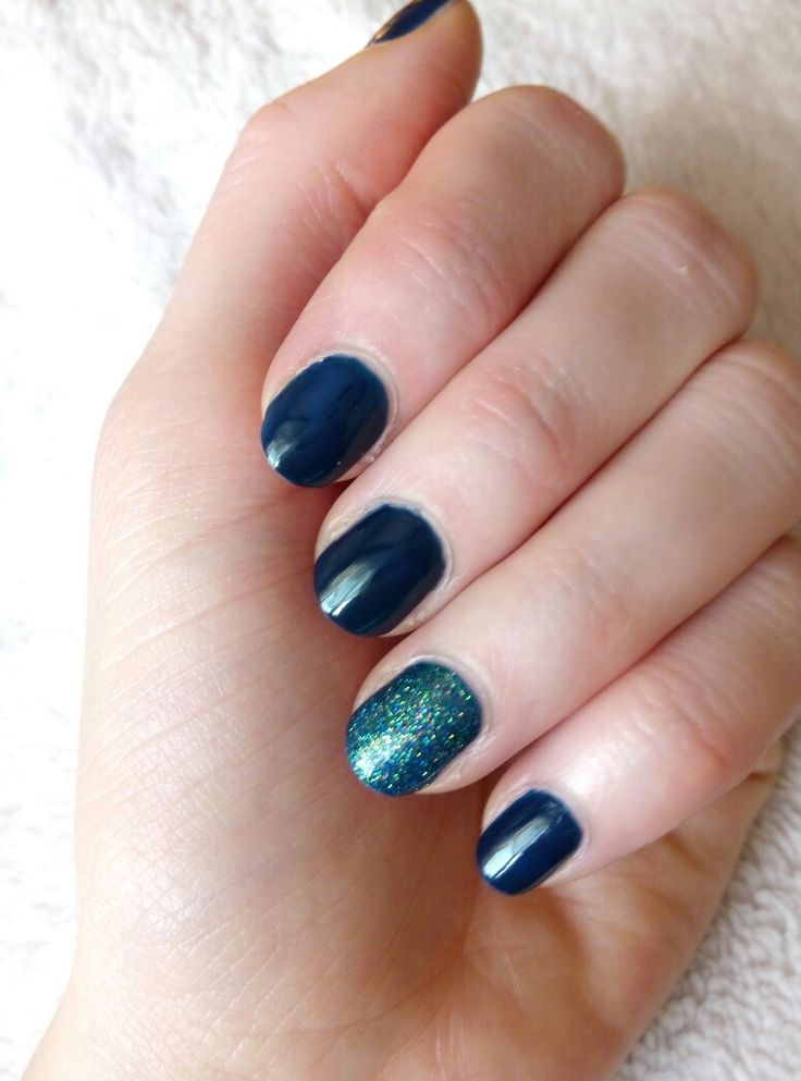 very short nails manicure
