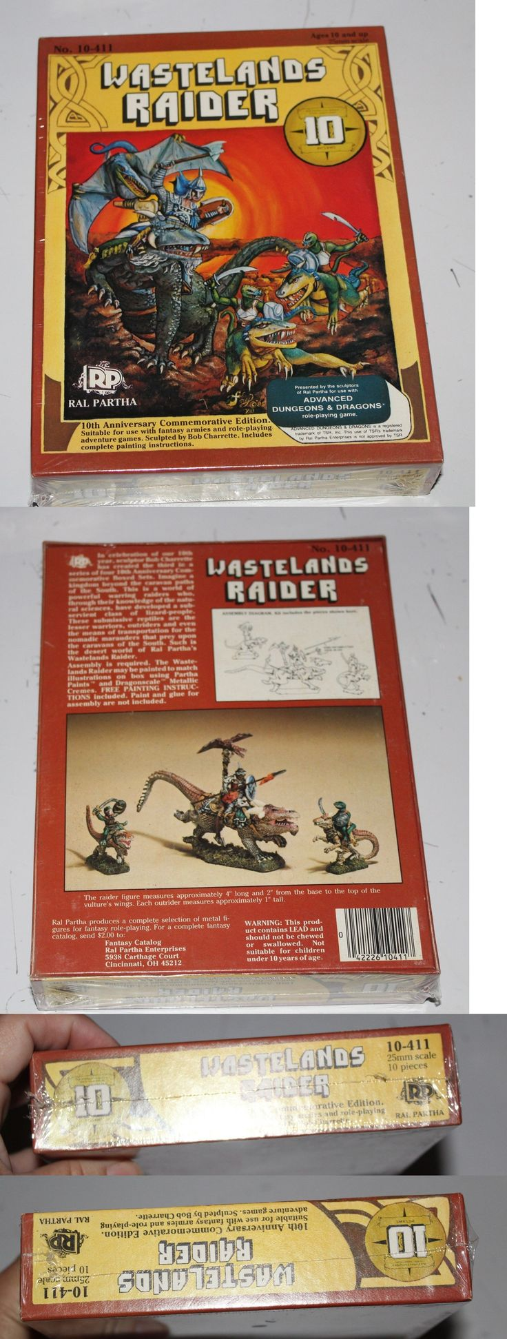 Ral Partha 16489: Wasteland Raider Ral Partha Adandd 10-411 Sealed Sculpture 25Mm Scale 10 Ann -> BUY IT NOW ONLY: $59.95 on eBay!