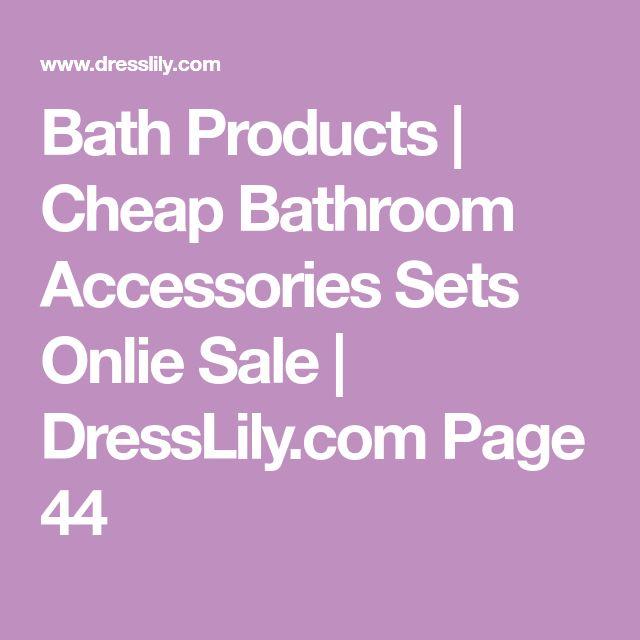 Bath Products | Cheap Bathroom Accessories Sets Onlie Sale | DressLily.com Page 44
