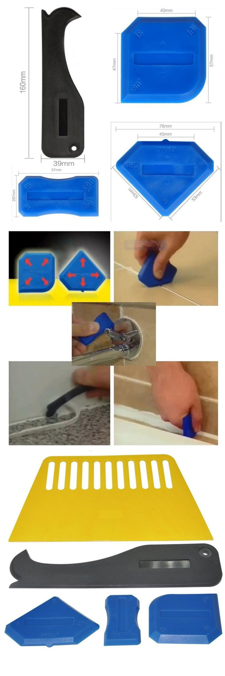 Best 25 sealant removers ideas on pinterest clean black mold 5pcsset silicone sealant spreader spatula scraper cement caulk removal tool household cleaning scraping cleaner nvjuhfo Choice Image