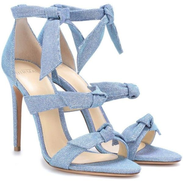 Alexandre Birman Lolita Sandals (39,125 INR) ❤ liked on Polyvore featuring shoes, sandals, blue, alexandre birman, alexandre birman sandals, blue shoes, alexandre birman shoes and blue sandals