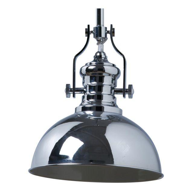 Schots parisian industrial metal pendant lamp ceiling lights chrome in home garden lighting fans pendant lighting