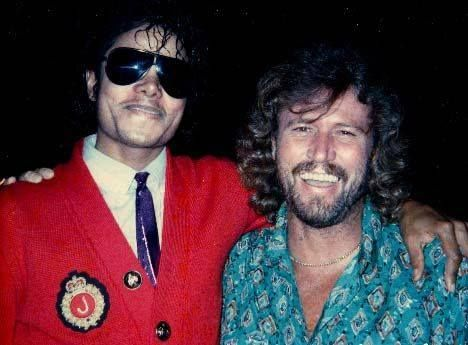 ♥ Michael Jackson ♥ & Barry Gibbs