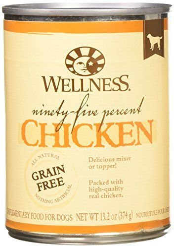 Wellness 95 Chicken Natural Wet Grain Free Canned Dog Food 132