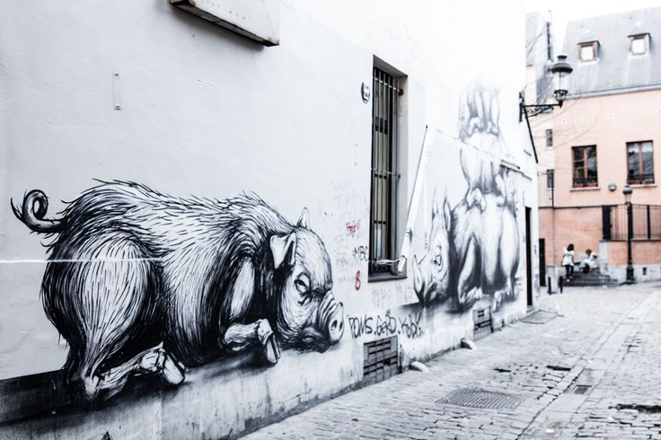 Brüssel ROA street art