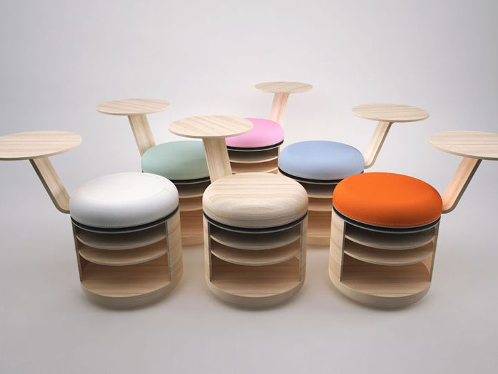 Beautiful Tandem Stool By Geoffrey Graven Great Ideas
