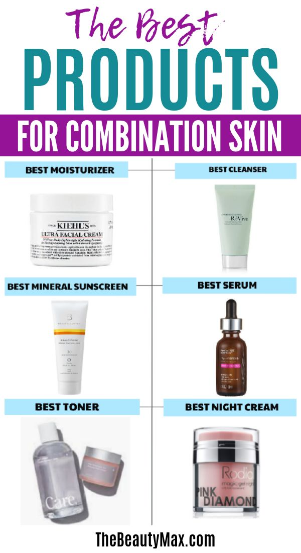 Best Skin Care Products for Combination Skin