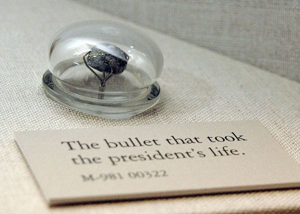 The Bullet That Took Lincoln's Life