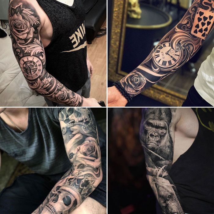 125 Best Sleeve Tattoos For Men Tattoo Sleeve Men Tattoos For