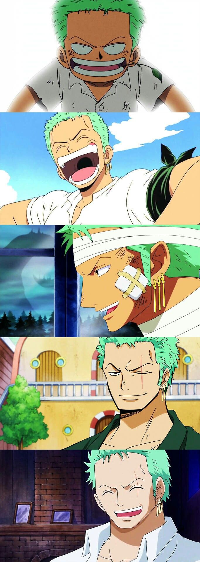 I still think pre-time skip Zoro is the best personally