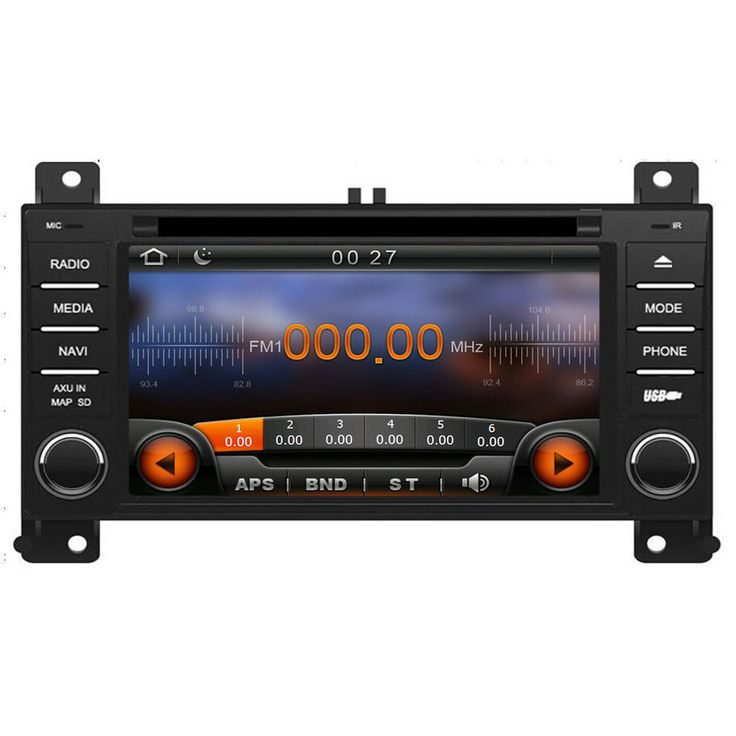 Car GPS Navigation DVD Radio Stereo  For Jeep Grand Cherokee 2011/2012/2013 #Virtue