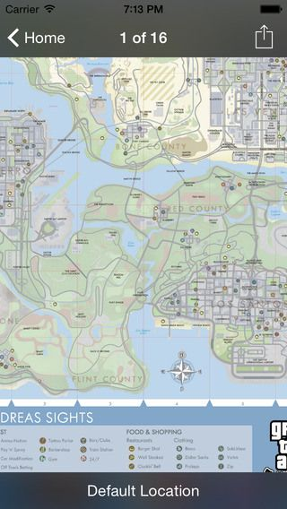 Cheats codes and maps for GTA San Andreas | apps.farm