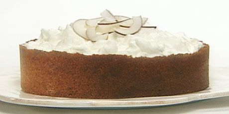 Anna Olson's coconut cream pie with gingersnap crust . . . oooooey!!