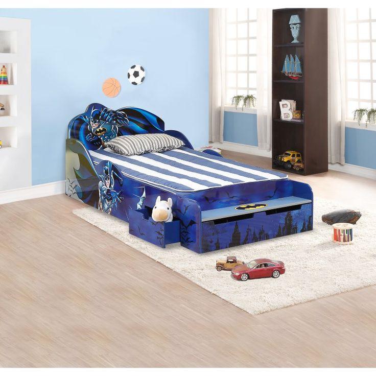 OKids Batman Childrens Twin Bed - 0111002